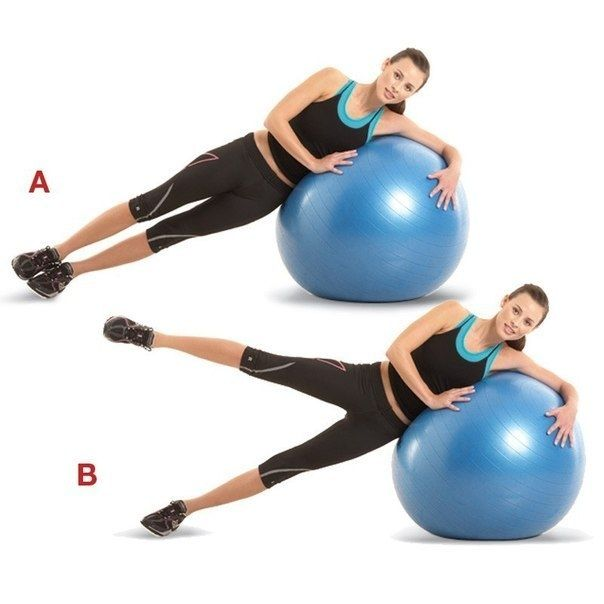 фитнес с фитболом для похудения видео
